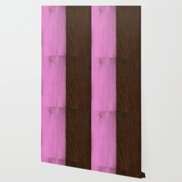 Pink Paint on Wood Wallpaper