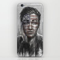 springsteen iPhone & iPod Skins featuring Shackled and Drawn by Westling