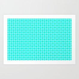 HobNob Sea Small Art Print