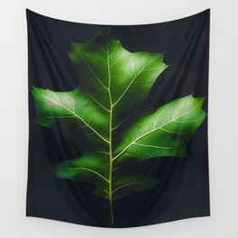 The Leaf (Color) Wall Tapestry