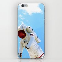 spaceman iPhone & iPod Skins featuring Spaceman by Richwill Company