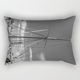 Thames Sailing Barge Rectangular Pillow