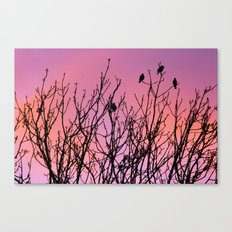 Tree Birds. Canvas Print
