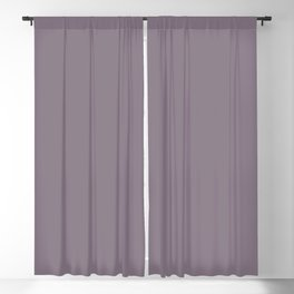 Valspar America Classical Violet Dark Pastel Purple 4001-4B Solid Color Blackout Curtain