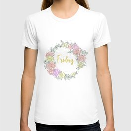 Friday fresh collection golden T-shirt