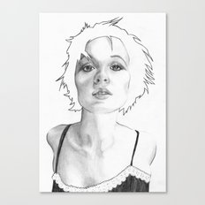 Lean in Canvas Print