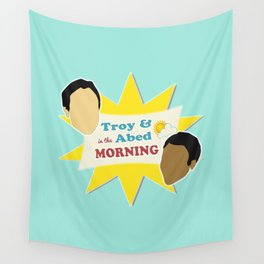Community Troy & Abed in the Morning Wall Tapestry