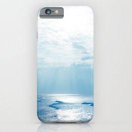 Hookipa Beach Blue Sensation iPhone Case