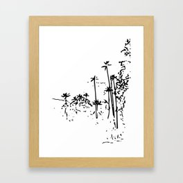 Corcora Valley Colombia Framed Art Print