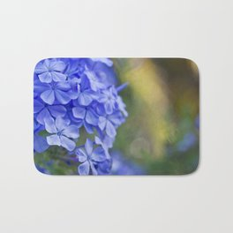 Summer garden blues Bath Mat