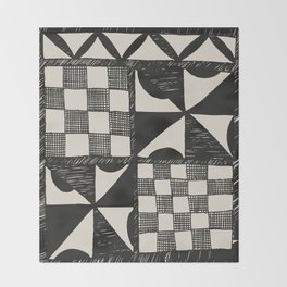 Tapa Cloth | Pacifica Patterns | Tribal Art Throw Blanket