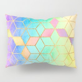 Rainbow Cubes Pillow Sham
