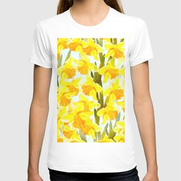 Spring Breeze With Yellow Flowers #decor #society6 #buyart T-shirt