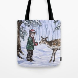 A Holiday Gift Tote Bag