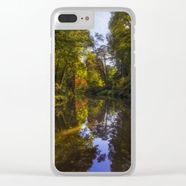 Summer Breath Clear iPhone Case