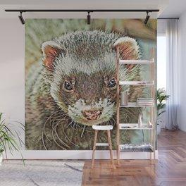 Toony Ferret 1 Wall Mural