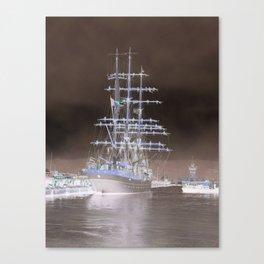 Tall Ship 'Mercia' Canvas Print