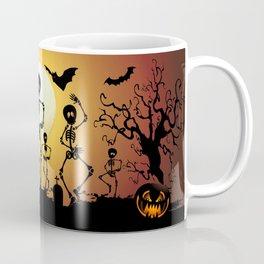 Skeletons Macabre Dance Coffee Mug