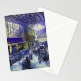 Kings Cross Station Van Gogh Stationery Cards