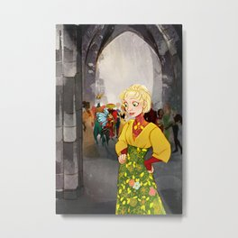 Conversation with a Fairy Metal Print
