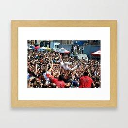 Andrew's Wave Framed Art Print