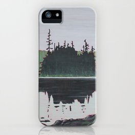 Ouse Lake, Algonquin Park iPhone Case