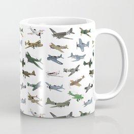 Various WW2 Planes Coffee Mug