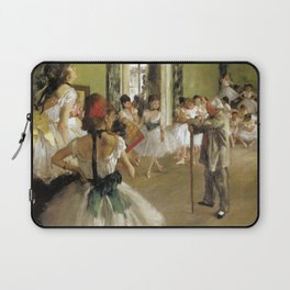 Edgar Degas The Dance Class Laptop Sleeve