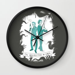 The Winchesters Are Coming - Supernatural Wall Clock
