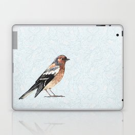 Watercolor nightingale Laptop & iPad Skin