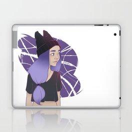 Dark Horned Beanie Laptop & iPad Skin