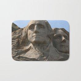 George Washington And Thomas Jefferson  - Mount Rushmore Bath Mat