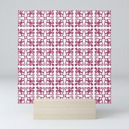 A motif from Borneo Mini Art Print