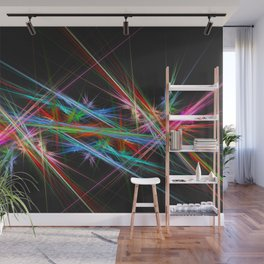 Laser show Wall Mural
