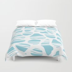Okapi Animal Print [Island Blue] Duvet Cover