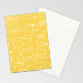 Pohutukawa flowers on gold Stationery Cards