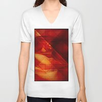 passion V-neck T-shirts featuring Passion by Fine2art