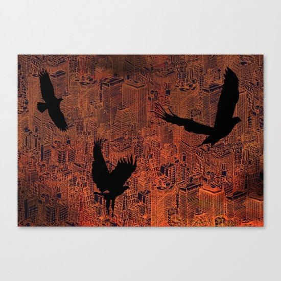 Ecotone (night) Canvas Print