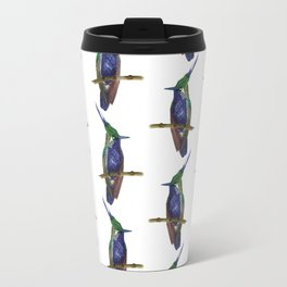 Green-crowned Plovercrest Travel Mug