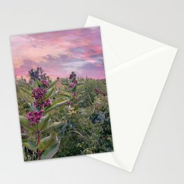 Hues Of Purple Stationery Cards