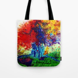 prism tree Tote Bag