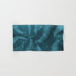 Ferns (light) abstract design Hand & Bath Towel