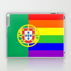 portugal country gay flag homosexual Laptop & iPad Skin