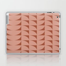 Mod Shapes Pattern in Rust and Terracotta Laptop & iPad Skin