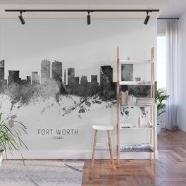 Fort Worth Texas Skyline Wall Mural