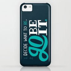 Go Be It. iPhone 5c Slim Case