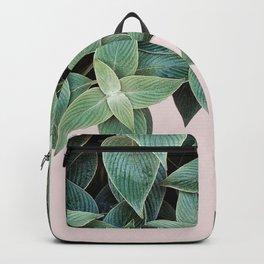 #leaf #wall #pink Backpack