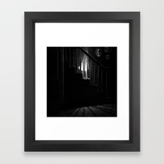 Drawlloween 2015: Ghost Framed Art Print