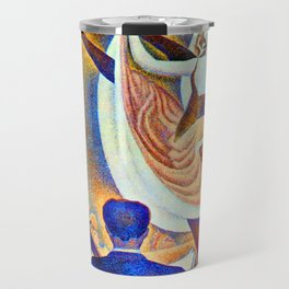 Georges Seurat Can Can Travel Mug