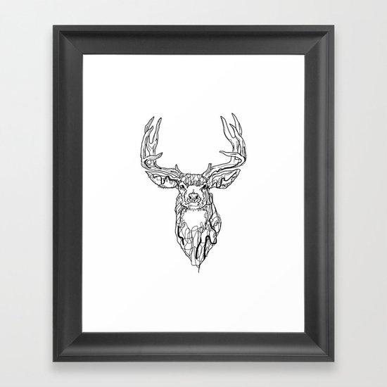 El Camino del Venado  Framed Art Print